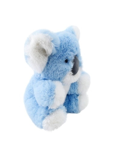 Sunman World`S Softest Baby Peluş Kuğala Mavi Renkli